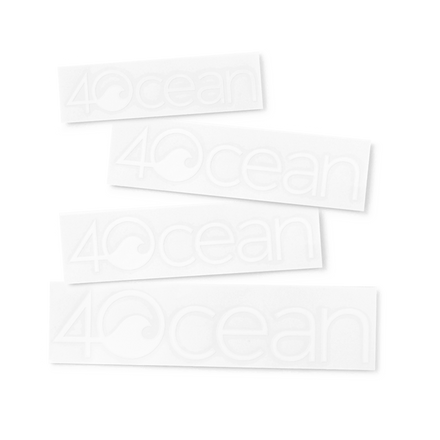 4ocean Sticker Pack