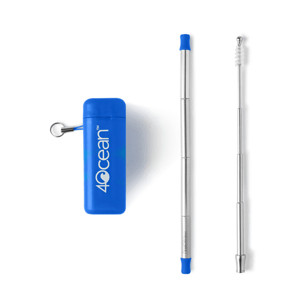 4ocean x FinalStraw Collapsible Travel Straw 2.0