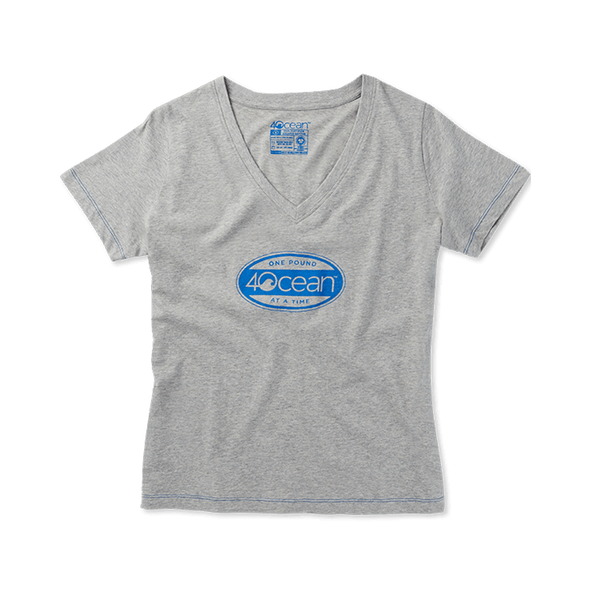 4ocean Surfer Badge Women's V-Neck T-Shirt featured image