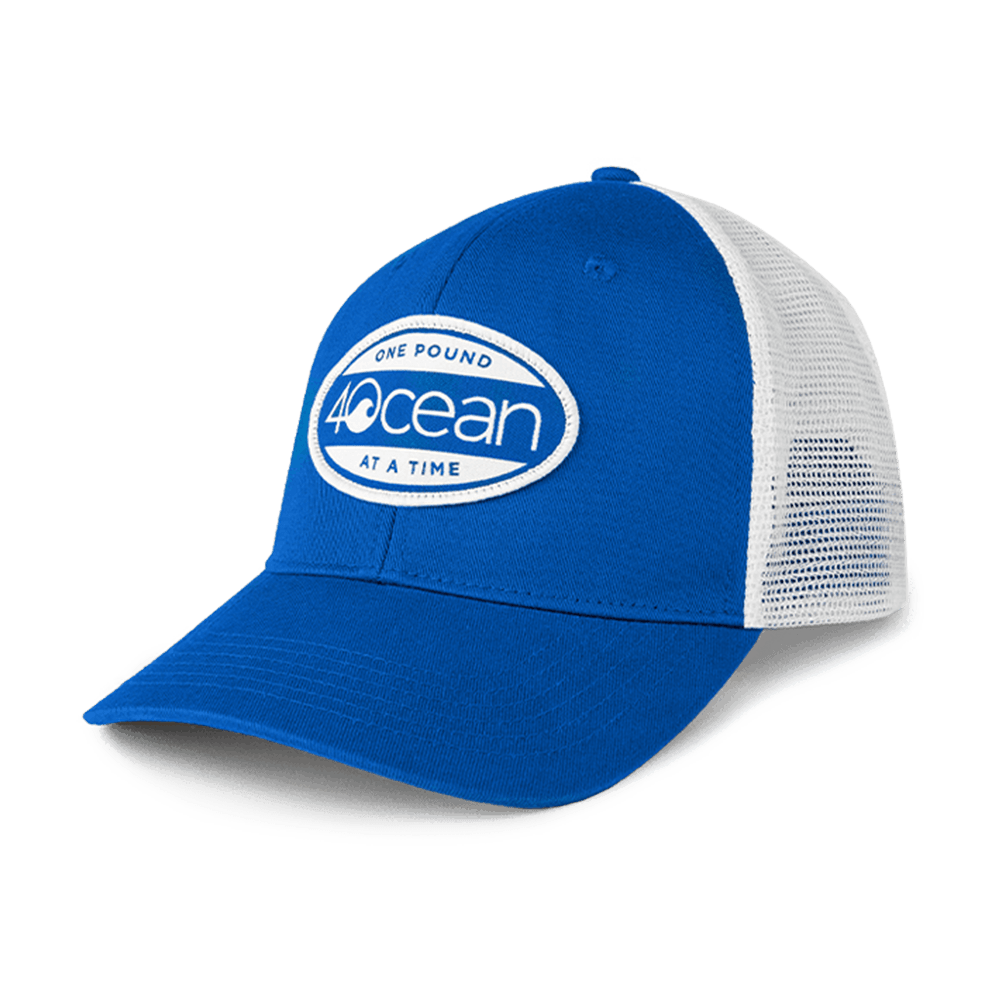 4ocean surfer badge trucker hat