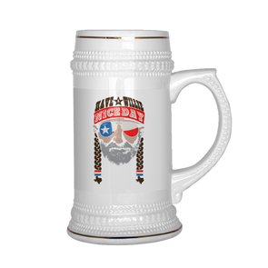 Have A Willie Nice Day Lone Star - Willie Nelson Inspired - Beer Stein - ATX HUMOR