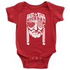 Have A Willie Nice Day (White Print) Willie Nelson Inspired - Baby Body Suit - ATX HUMOR