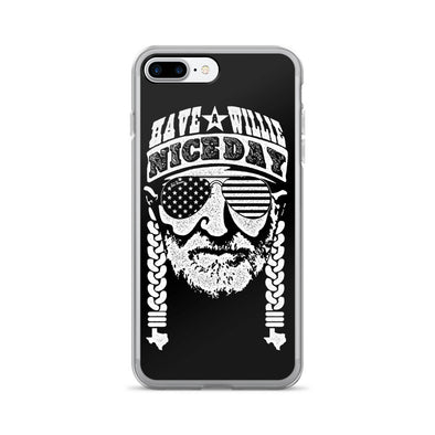 Have A Willie Nice Day B&W iPhone Case - ATX HUMOR