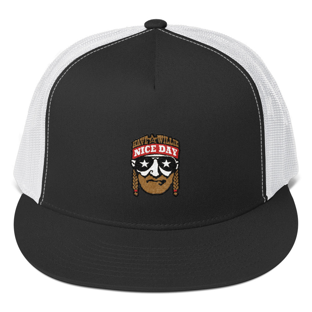 73e93ec0bc7 Have A Willie Nice Day (Color) Willie Nelson Inspired - Snapback Hat ...