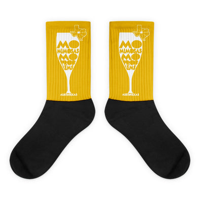 Mo Mimosas Mo Problems Socks - ATX HUMOR