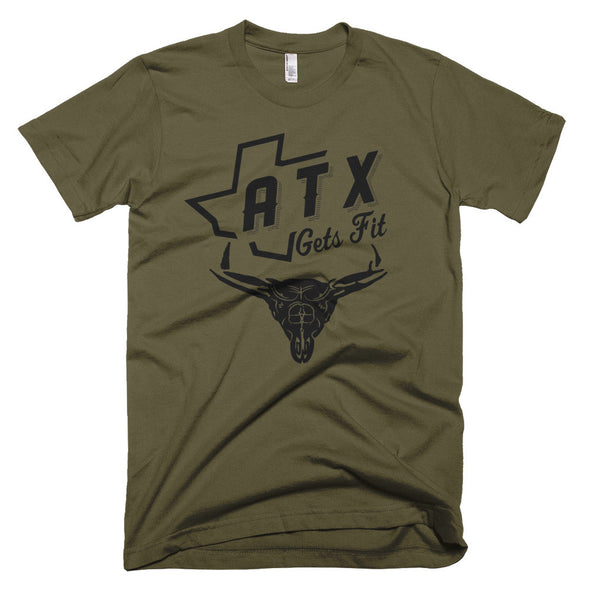 ATX Gets Fit (Black Print) Unisex T-Shirt - ATX HUMOR