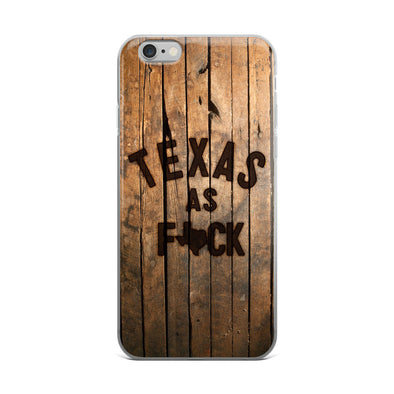 Texas As F*ck iPhone Case - ATX HUMOR