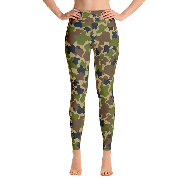 Texas Camo - Yoga Pants - Workout Pants - Women's Leggings - ATX HUMOR