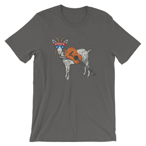 Willie GOAT - Willie Nelson Inspired Unisex T-Shirt - ATX HUMOR