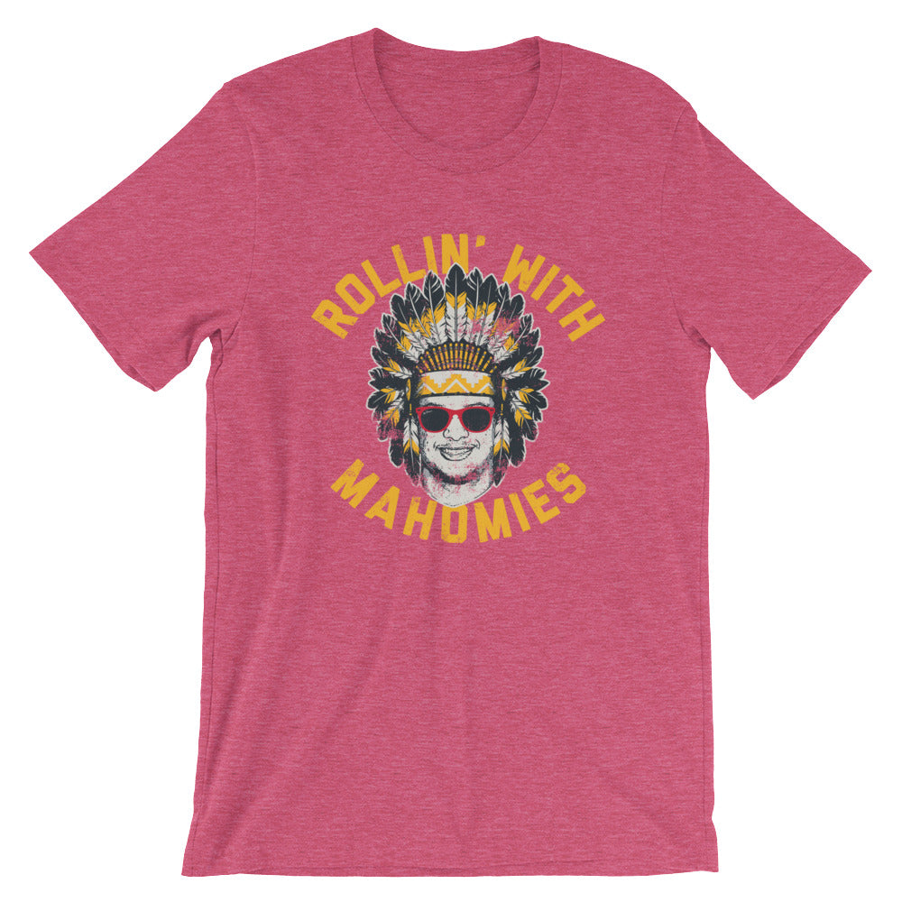1c9340fb3 Rollin  With Mahomies - Patrick Mahomes Chiefs Inspired - Unisex T-Shirt