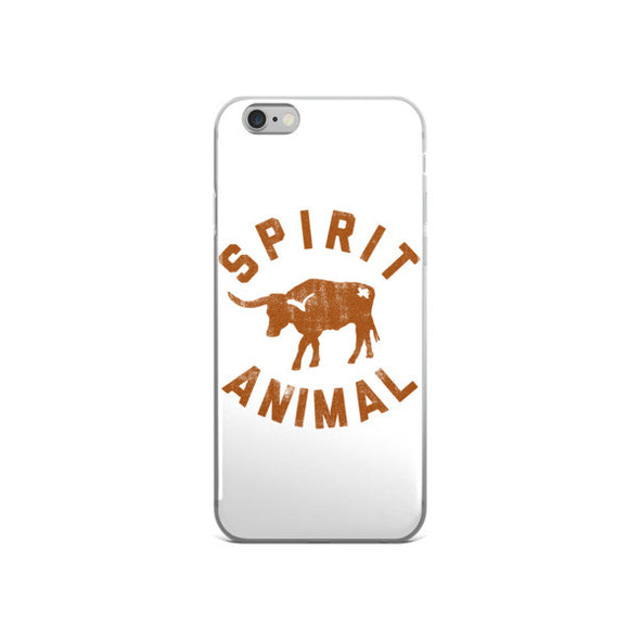 Texas Spirit Animal iPhone Case - ATX HUMOR