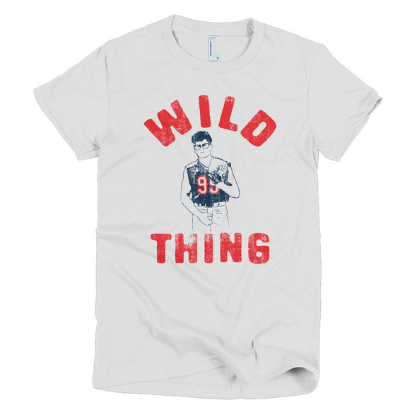 Wild Thing Ricky Vaughn Womens T-Shirt - ATX HUMOR