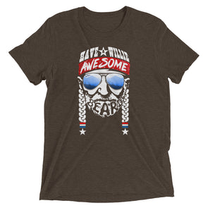 Have A Willie Awesome Beard - Willie Nelson Inspired - White Print - Unisex T-Shirt - ATX HUMOR