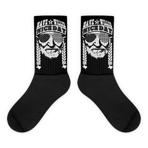 Have A Willie Nice Day Socks - ATX HUMOR