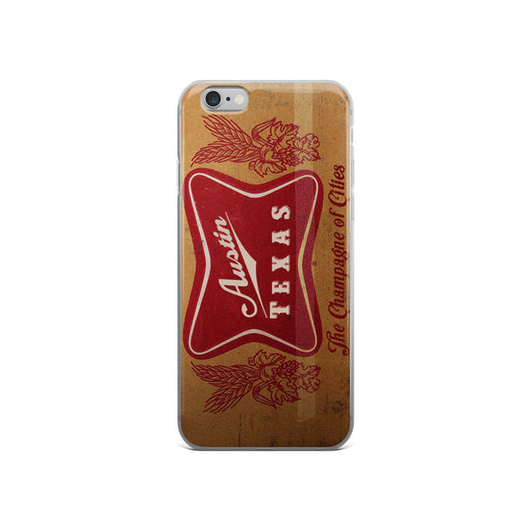 Austin High Life Vintage Box iPhone Case - ATX HUMOR