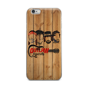 Texas Outlaw Legends (Light Wood) iPhone Case - ATX HUMOR