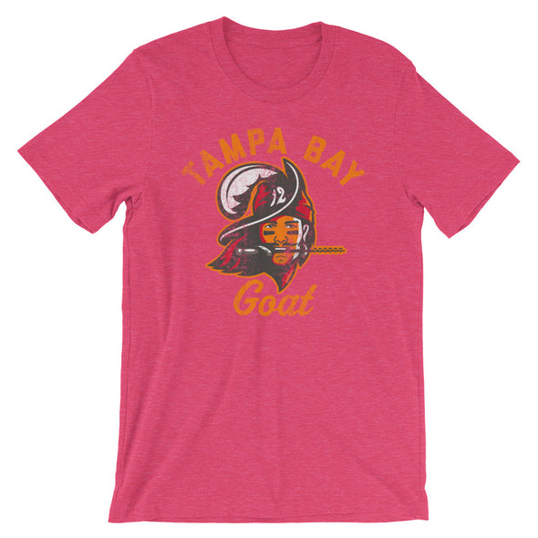 The Tampa Bay Goat Tampa Bay Buccaneers Tom Brady Inspired Unisex T-Shirt - ATX HUMOR