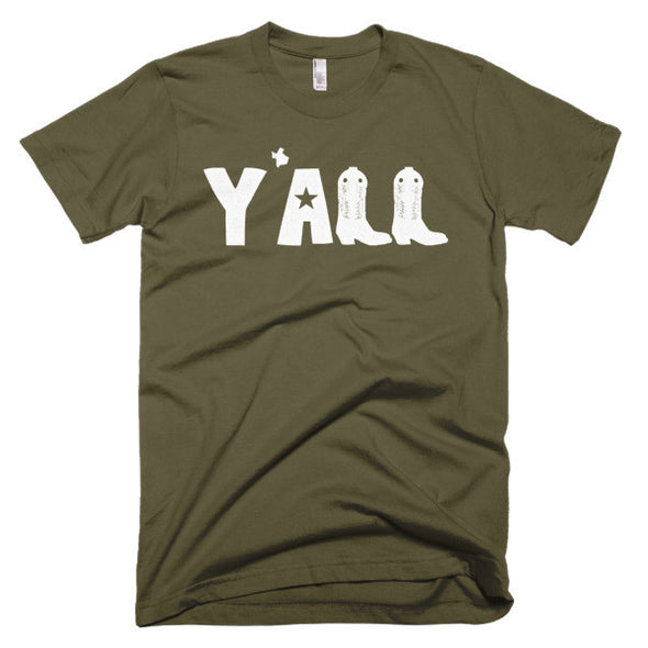 Y'all (White Print) Unisex T-Shirt - ATX HUMOR