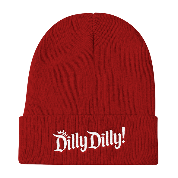 Dilly Dilly Crown A True Friend of The Crown Bud Light Inspired Knit Beanie - ATX HUMOR
