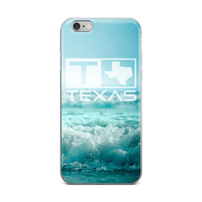 Texas Surf Style Waves iPhone Case - ATX HUMOR