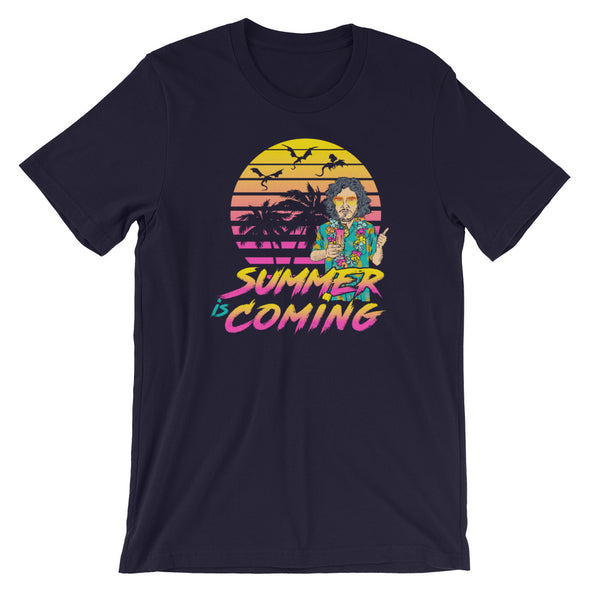 Summer is Coming - GOT Game of Thrones Inspired Parody Unisex T-Shirt - ATX HUMOR
