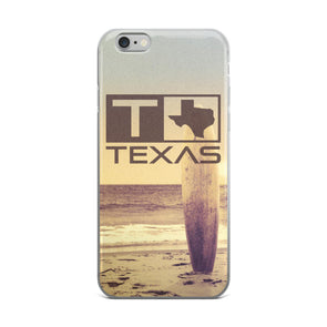 Texas Surf Style Beach iPhone Case - ATX HUMOR