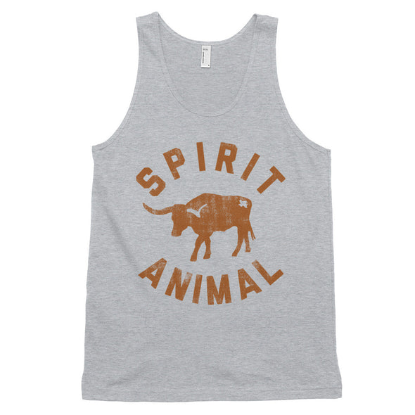 Texas Spirit Animal Classic Tank - ATX HUMOR