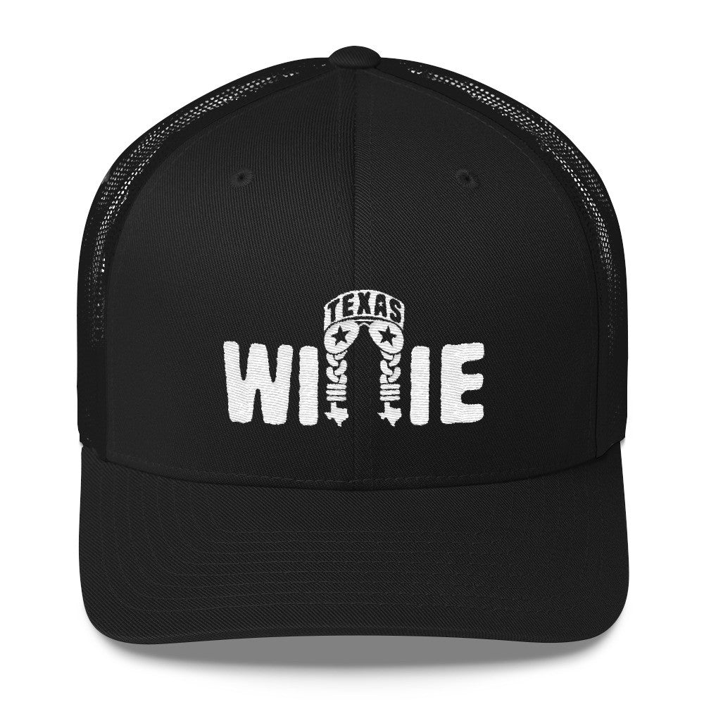 b063b361735 Willie Nelson Texas Trucker Cap – ATX HUMOR