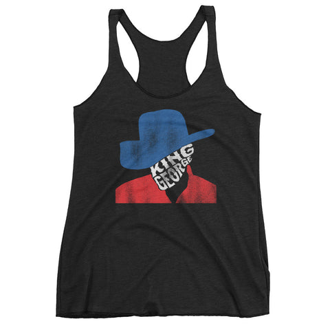 King George Strait Women's Racerback Tank Top