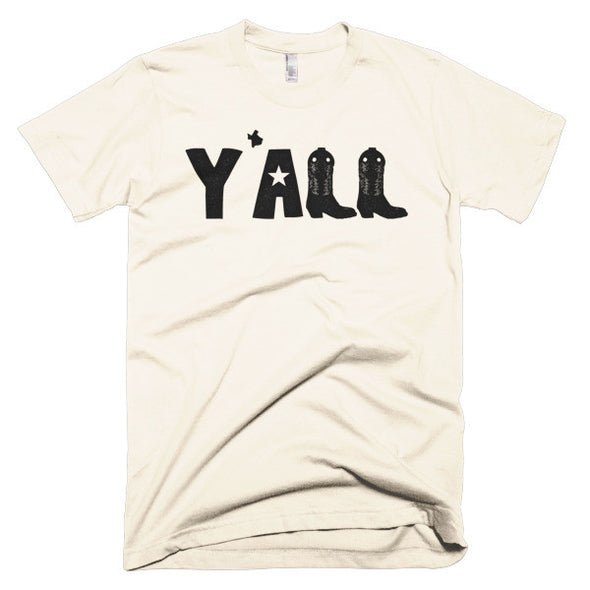 Y'all (Black Print) Unisex T-Shirt - ATX HUMOR