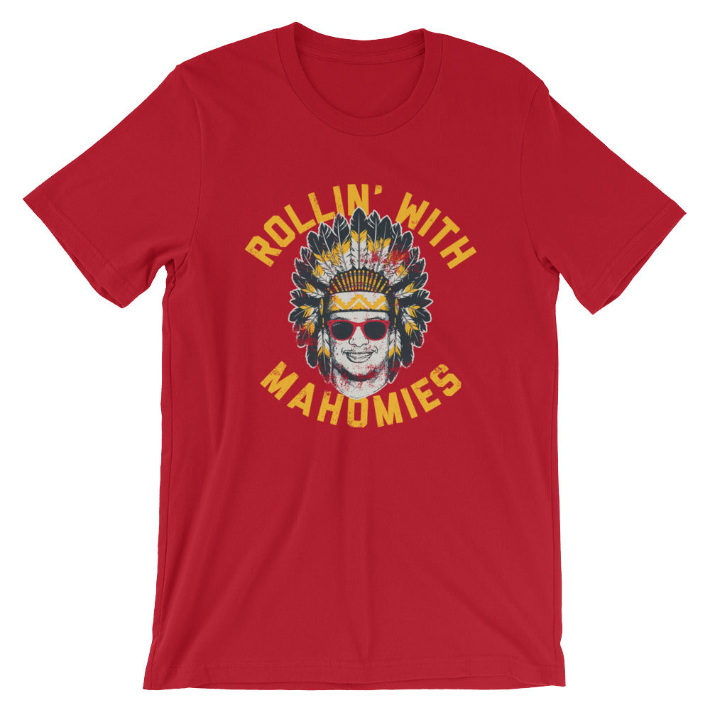 911cb4820 Rollin  With Mahomies - Patrick Mahomes Chiefs Inspired - Unisex T-Shirt