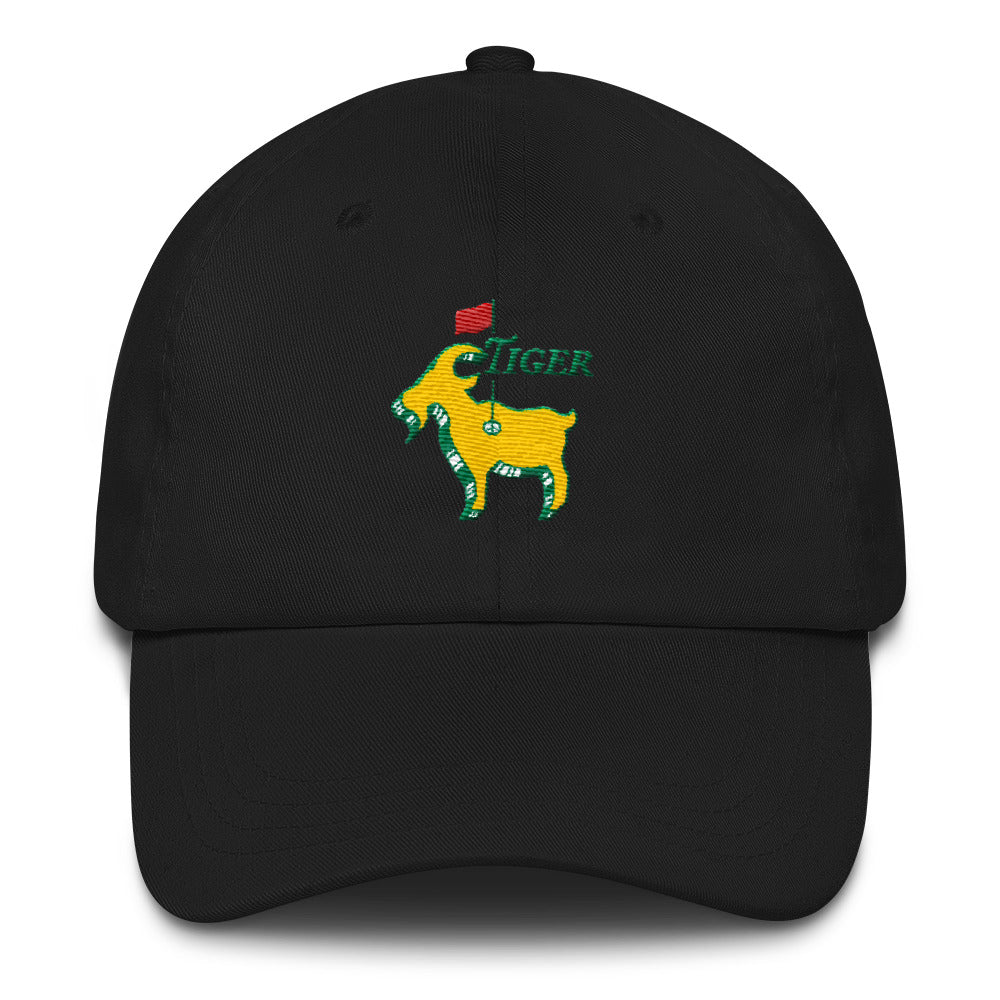 60948c89c09 Tiger Woods Inspired - Good at Golf - The GOAT - Greatest Comeback - Masters  Golf Caddy Slouch Hat