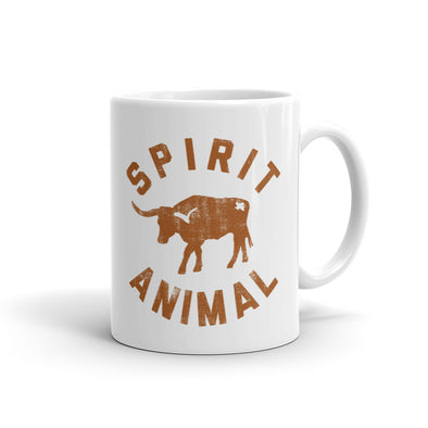 Texas Spirit Animal Coffee Cup - ATX HUMOR