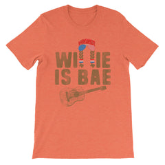 Willie Is Bae (Brown Print) Unisex T-Shirt
