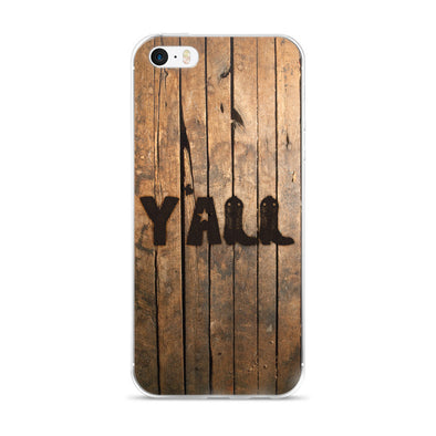 Y'all (Wood) iPhone Case - ATX HUMOR