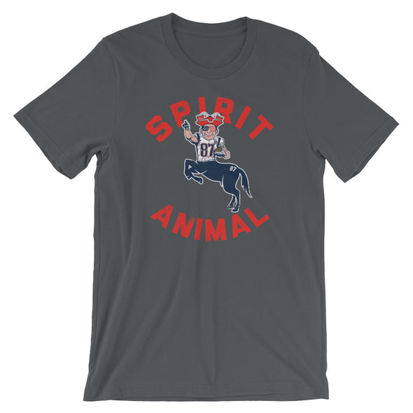 The Gronk Spirit Animal - Rob Gronkowski - New England Patriots Inspired - Unisex T-Shirt - ATX HUMOR