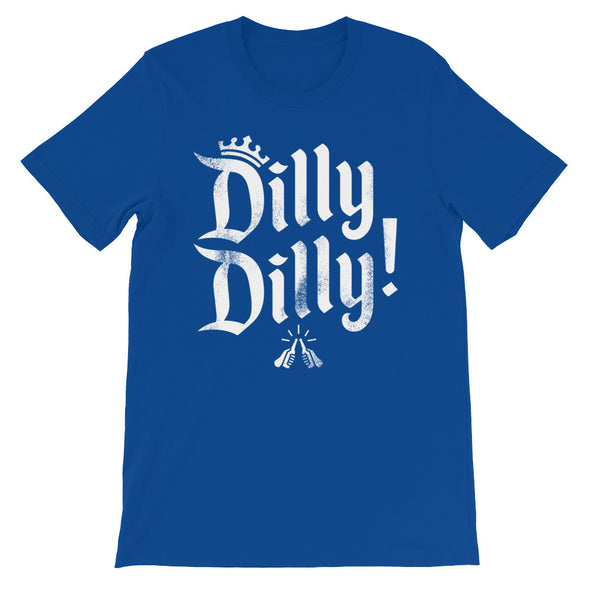 Dilly Dilly Crown A True Friend of The Crown Bud Light Inspired Unisex T-Shirt - ATX HUMOR