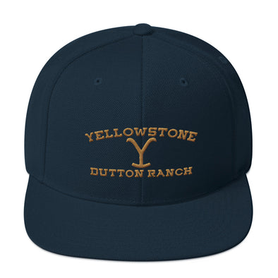 Yellowstone Dutton Ranch Inspired Snapback Flat Brim Hat