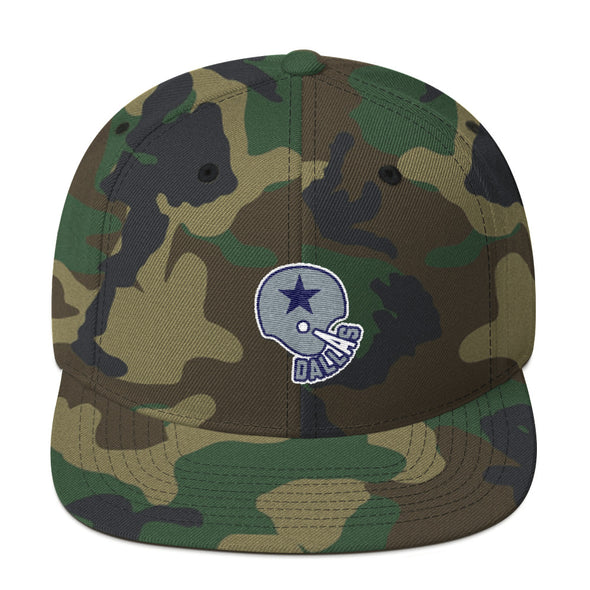Dallas Texas Football - Dallas Cowboys Football Inspired  Snapback Hat - ATX HUMOR