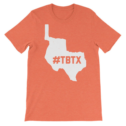 Republic of Texas 1836 Throwback #TBTX Unisex Shirt