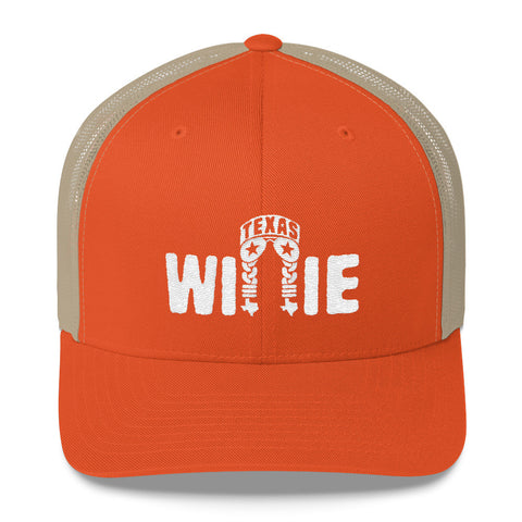 Willie Nelson Texas Trucker Cap