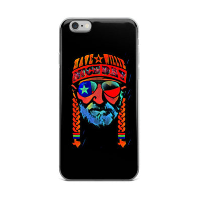 Have A Willie Nice Day Abstract iPhone Case - ATX HUMOR