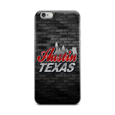 Austin, Texas Beer Label iPhone Case - ATX HUMOR