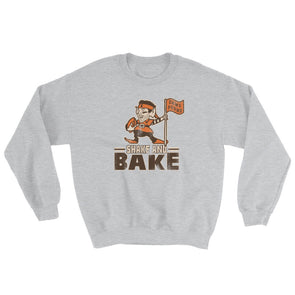 Shake and Bake - Baker Mayfield - Flag Plant - Cleveland Browns Inspired - Unisex Sweatshirt - ATX HUMOR