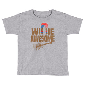 Willie Awesome USA Unisex Toddler T-Shirt - ATX HUMOR