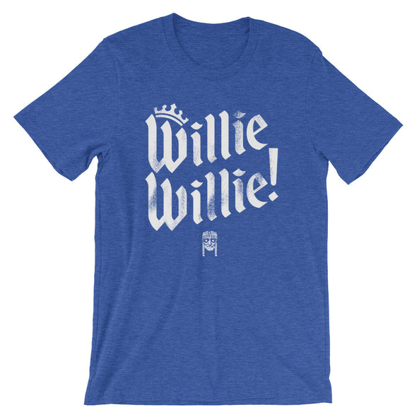 Willie Willie - A True Friend of The Crown Bud Light & Willie Nelson Inspired Unisex T-Shirt - ATX HUMOR