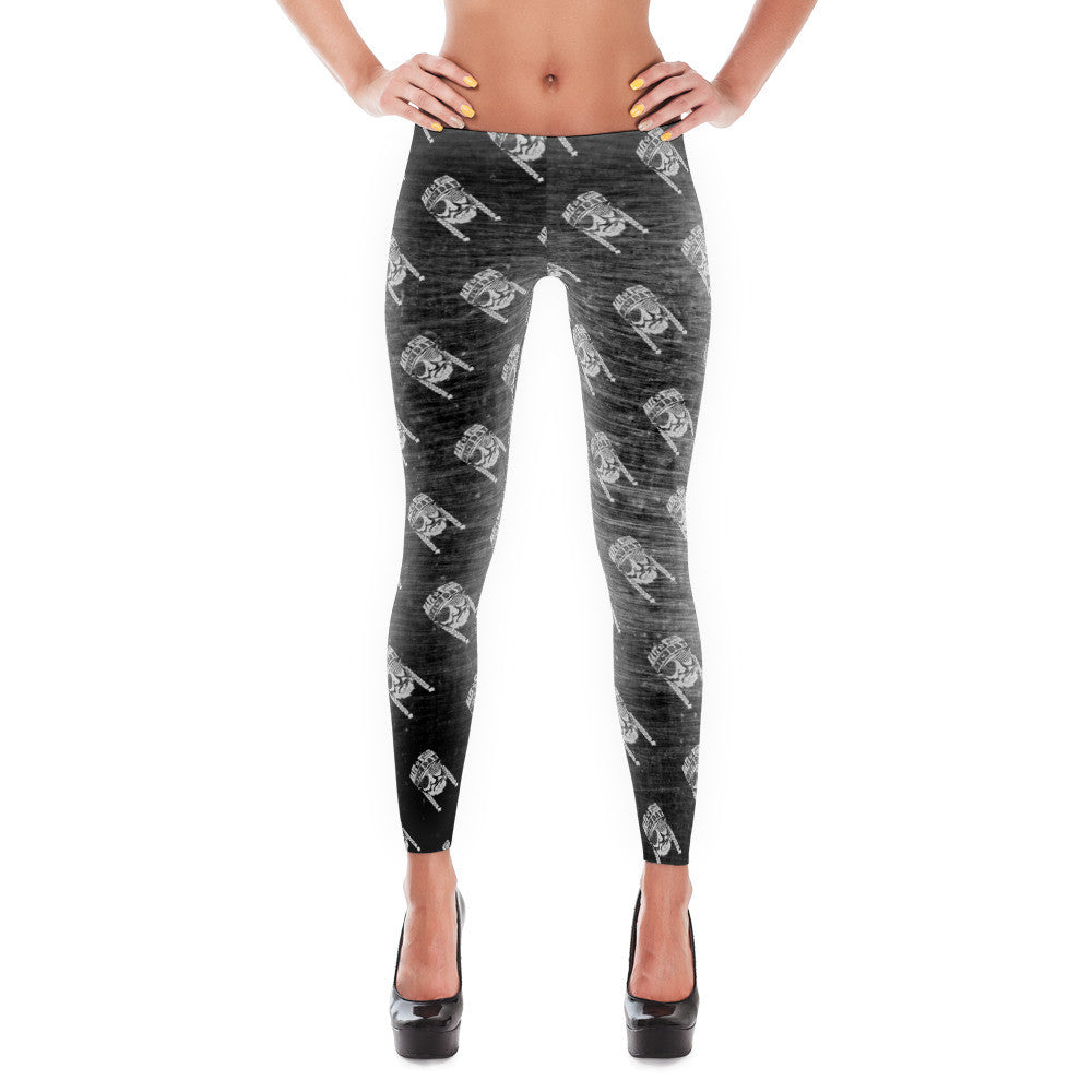 7a9495188b0a81 Have A Willie Nice Day (Metallic) - Willie Nelson Inspired - Leggings