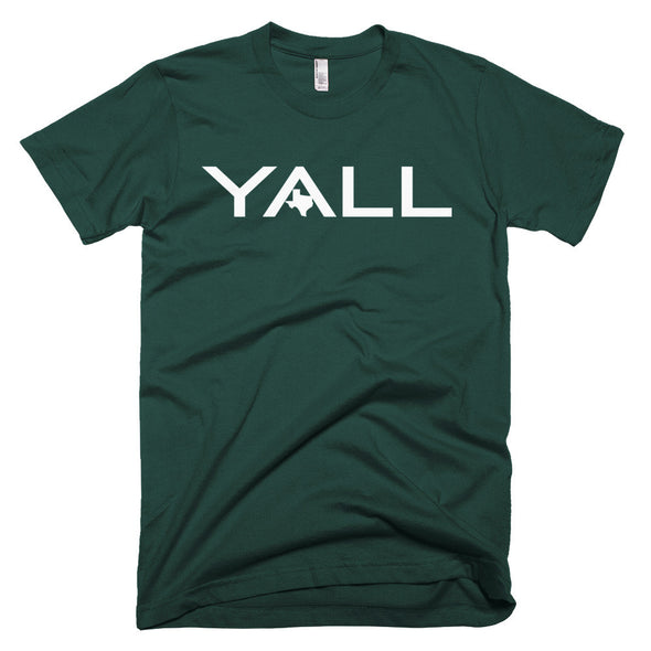 Y'all Surf Style (White Print) Unisex T-Shirt - ATX HUMOR