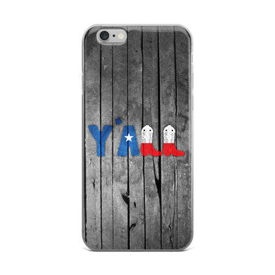 Y'all (Texas) iPhone Case - ATX HUMOR