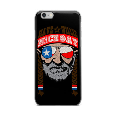 Have A Willie Nice Day iPhone Case - ATX HUMOR